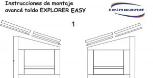 INSTRUCCIONES DE MONTAJE EXPLORER CS EASY